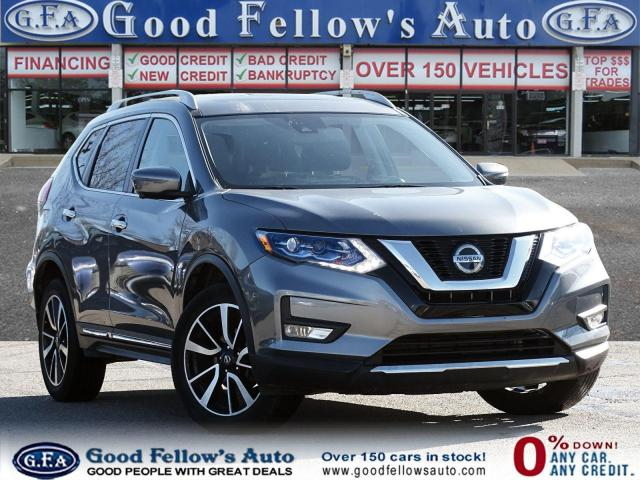 2018 Nissan Rogue SL AWD, PAN ROOF, NAVI, BACKUP CAMERA, MEMORY SEAT
