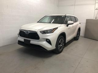 New 2021 Toyota Highlander HYBRID XLE AWD+POWER MOONROOF+POWER LIFTGATE! for sale in Cobourg, ON
