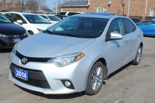 Used 2014 Toyota Corolla LE Sunroof Alloy for sale in Brampton, ON