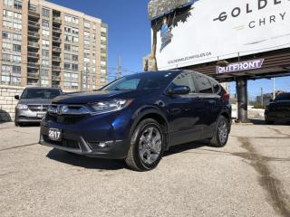 Used 2017 Honda CR-V EX Demo - Sunroof, Lane Departure, Forward Collision Mitigation. for sale in North York, ON