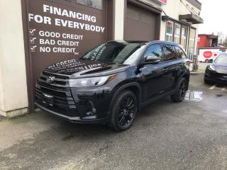 Used 2019 Toyota Highlander SE for sale in Abbotsford, BC