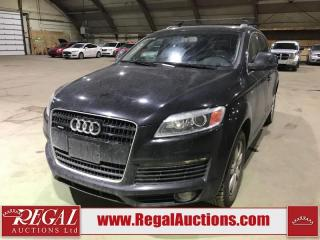 Used 2008 Audi Q7 S-line 4D UTILITY 4.2 AWD for sale in Calgary, AB