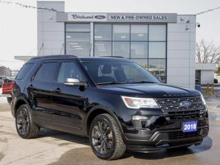 Used 2018 Ford Explorer XLT 202A | CLEAN CARFAX | ROOF | 20s for sale in Winnipeg, MB