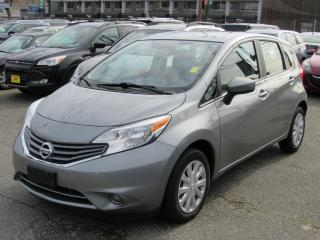 Used 2015 Nissan Versa Note S for sale in Vancouver, BC