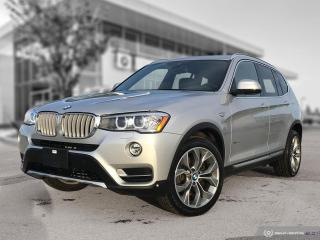 Used 2017 BMW X3 xDrive28i ACCIDENT FREE! ENHANCED! LOW MILEAGE! for sale in Winnipeg, MB