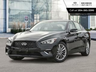 New 2021 Infiniti Q50 LUXE for sale in Winnipeg, MB