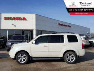 Used 2015 Honda Pilot EX-L leather, 8 passenger, DVD for sale in Winnipeg, MB
