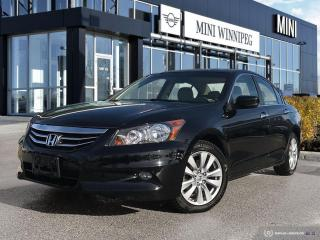 Used 2012 Honda Accord EX-L ULTRA LOW MILEAGE! V6! LEATHER! for sale in Winnipeg, MB