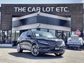 Used 2016 Lincoln MKX Reserve AWD!! FULLY LOADED!! HEATED/COOLED LEATHER!! HEATED WHEEL!! for sale in Sudbury, ON