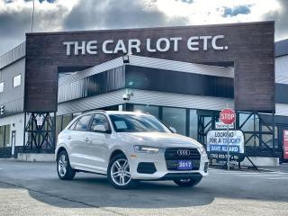 Used 2017 Audi Q3 2.0T Komfort AWD!! LEATHER!! SUNROOF!! HEATED SEATS!! for sale in Sudbury, ON