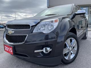 Used 2015 Chevrolet Equinox 2LT LT FWD HEATED LEATHER SEATS NAVIGATION for sale in Carleton Place, ON