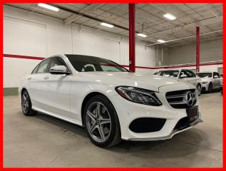 Used 2018 Mercedes-Benz C-Class C300 4MATIC PREMIUM PLUS SPORT ACTIVE LED 360 CAM for sale in Vaughan, ON