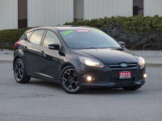 Used 2013 Ford Focus LEATHER-HEATED,SONY DISPLAY,LOADED,CERTIFIED for sale in Mississauga, ON