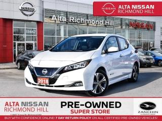 Used 2018 Nissan Leaf SV   Propilot Asst   BSW   Rear CAM   Navi   Alloy for sale in Richmond Hill, ON