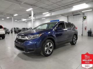 Used 2017 Honda CR-V LX - CAMERA + JAMAIS ACCIDENTE !!! for sale in Saint-Eustache, QC
