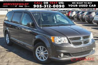 Used 2018 Dodge Grand Caravan SXT PREMIUM PLUS | NAV | DVD | for sale in Hamilton, ON