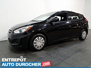 Used 2017 Hyundai Accent L - ÉCONOMIQUE - MANUELLE for sale in Laval, QC