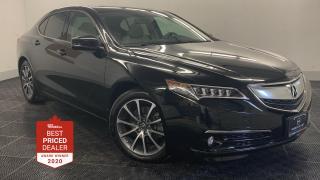 Used 2017 Acura TLX SH-AWD V6 ELITE *ADAPTIVE CRUISE - NAVIGATION* for sale in Winnipeg, MB