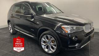 Used 2017 BMW X3 AWD xDrive28i *NAVIGATION - PANORAMIC ROOF* for sale in Winnipeg, MB