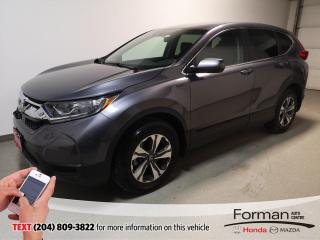 Used 2018 Honda CR-V LX|Certified|Htd Seats|Rmt Start|Cam|Local for sale in Brandon, MB