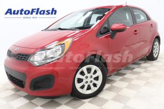 Used 2014 Kia Rio LX-PLUS* HATCHBACK* A/C* CRUISE* BLUETOOTH for sale in Saint-Hubert, QC