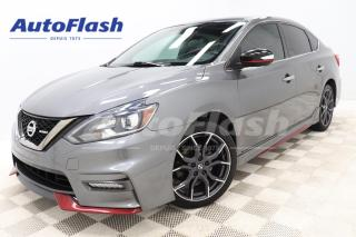 Used 2017 Nissan Sentra NISMO* M6* CAMERA* GPS* CRUISE* A/C* for sale in Saint-Hubert, QC