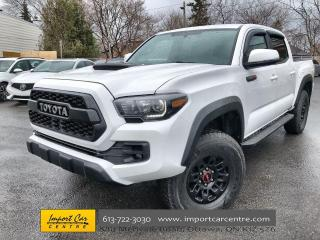 Used 2017 Toyota Tacoma TRD Off Road LEATHER  NAVI  FIBROBEC CAP  HTD SEAT for sale in Ottawa, ON