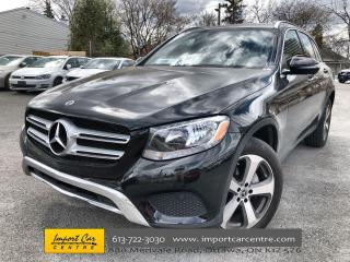 Used 2018 Mercedes-Benz GLC 300 ALLOYS  HTD SEATS  BACKUP CAM for sale in Ottawa, ON