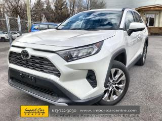 Used 2020 Toyota RAV4 Limited LEATHER  ROOF  NAVI  BLIS  JBL SOUND  BACK for sale in Ottawa, ON