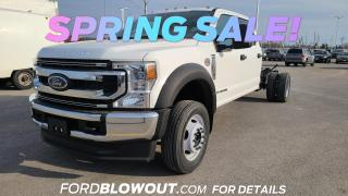 New 2021 Ford F-550 XLT for sale in Kingston, ON