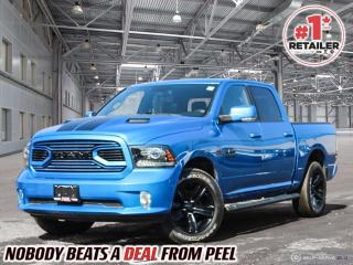 Used 2018 RAM 1500 Hydro Blue Sport for sale in Mississauga, ON