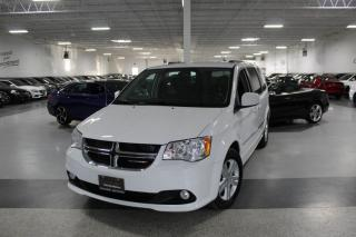 Used 2017 Dodge Grand Caravan CREW I NO ACCIDENTS I POWER DOORS I LEATHER I HEATED SEATS I for sale in Mississauga, ON
