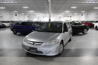 Used 2004 Honda Civic DX-G NO ACCIDENTS I ANTI THEFT I RECLINING SEATS I AS IS for sale in Mississauga, ON