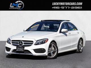 Used 2018 Mercedes-Benz C-Class C 300 4MATIC AMG SPORT PKG-PANOROOF-CAMERA-NAVI-ONLY 40KMS for sale in Toronto, ON