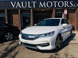 Used 2017 Honda Accord Sedan 4dr I4 CVT Sport,LEATHER,NO ACCIDENTS for sale in Brampton, ON