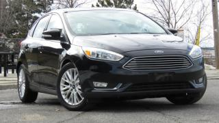 Used 2016 Ford Focus 5dr HB Titanium Nav. for sale in North York, ON