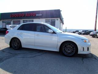Used 2012 Subaru Impreza WRX STi STI AWD 6 SPEED MANUAL SEDAN BLUETOOTH CERTIFIED for sale in Milton, ON