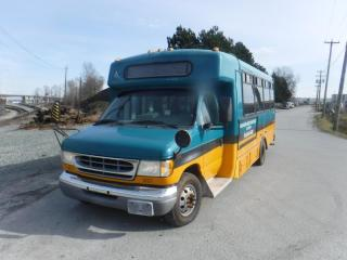 Used 2002 Ford Econoline E-450 19 passenger Bus Diesel for sale in Burnaby, BC