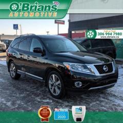Used 2016 Nissan Pathfinder Platinum for sale in Saskatoon, SK