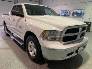 Used 2018 RAM 1500 SLT Quad Cab 4WD #Touch Screen #Heated Steering Wheel #Apple Car Play for sale in Brandon, MB