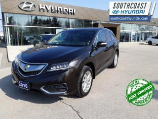 Used 2016 Acura RDX Technology  - Navigation -  Sunroof - $160 B/W for sale in Simcoe, ON