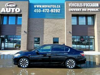 Used 2017 Honda Accord Touring Hybride for sale in St-Eustache, QC