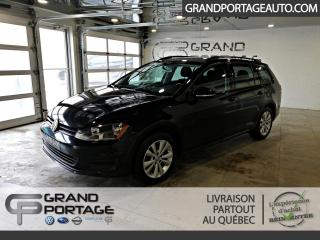 Used 2017 Volkswagen Golf Sportwagen 1.8 TSI Trendline 4 portes DSG 4MOTION for sale in Rivière-Du-Loup, QC