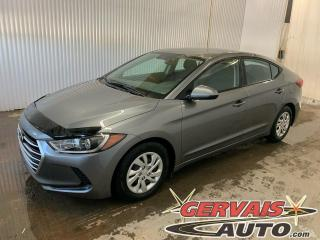 Used 2018 Hyundai Elantra L SIEGES CHAUFFANTS for sale in Trois-Rivières, QC
