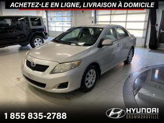 Used 2010 Toyota Corolla A/C + CRUISE + GROUPE ELECTRIQUE + WOW ! for sale in Drummondville, QC