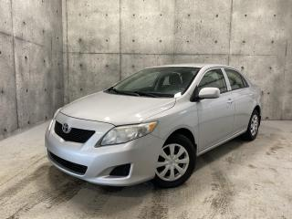 Used 2010 Toyota Corolla MANUEL for sale in St-Nicolas, QC