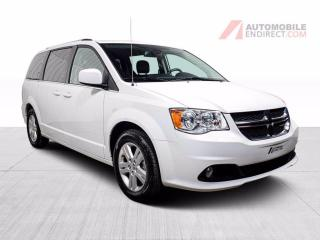 Used 2020 Dodge Grand Caravan CREW PLUS STOW N GO CUIR TV/DVD NAV CAMERA RECUL for sale in St-Hubert, QC