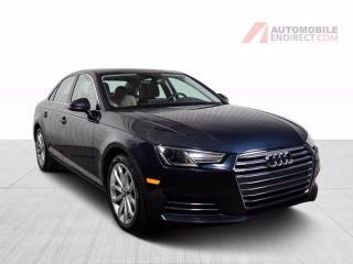 Used 2017 Audi A4 PROGRESSIV QUATTRO TFSI CUIR TOIT MAGS NAV for sale in St-Hubert, QC