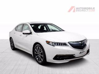 Used 2017 Acura TLX ELITE SH-AWD V6 AWD CUIR TOIT MAGS NAV for sale in St-Hubert, QC