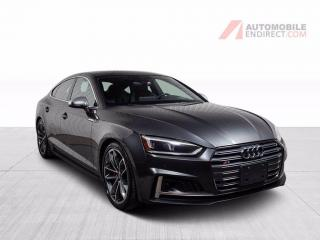 Used 2018 Audi S5 TECHNIK S-LINE QUATTRO CUIR TOIT NAV CAMERA RECUL for sale in St-Hubert, QC